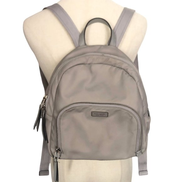 Kate Spade Dawn Nylon Back Pack - Soft Taupe Color